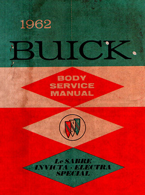 1962 Buick Body Shop Manual