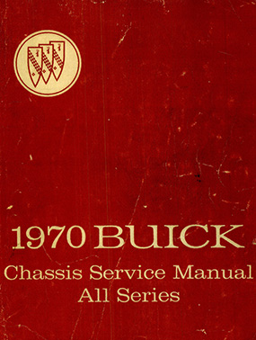 1970 Buick Chassis Service Manual