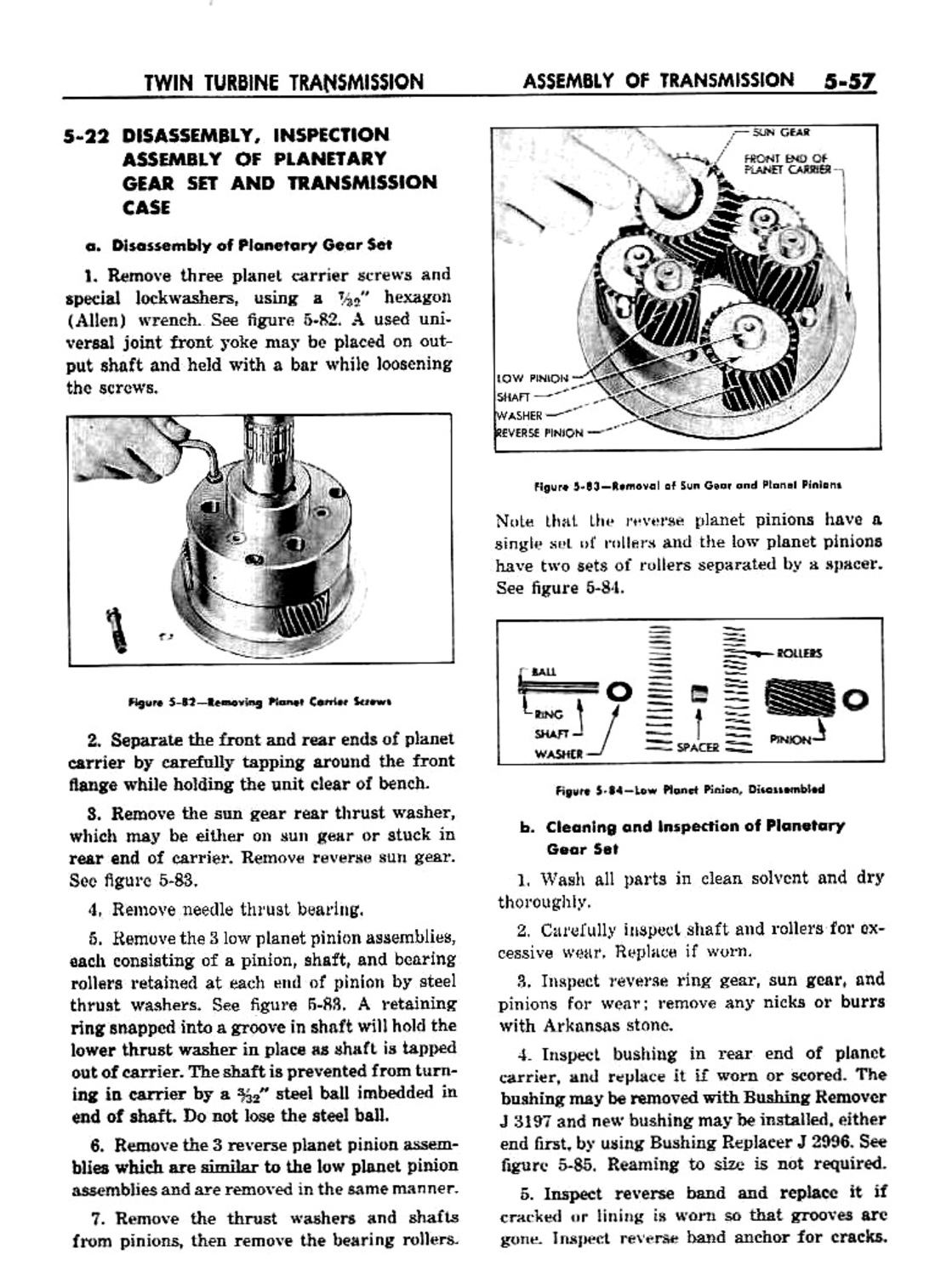 1959 buick chassis service manual automatic transmission page 57 rh buick oldcarmanualproject com 1961 Buick 1960 Buick